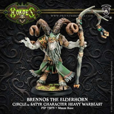 Circle Character Warbaest Brennos the Elderhorn (plastic)