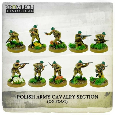 Polish Army Cavalry Section on foot (10)
