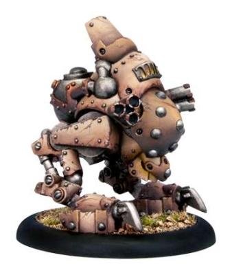 Mercenaries Ghordson Basher Rhulic Heavy Warjack