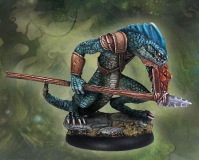 Ridgeback Lizardman Lancer