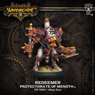 Redeemer Light Warjack (plastic)