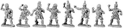 Peltasts with Attic & Chalkidian helmets (random
