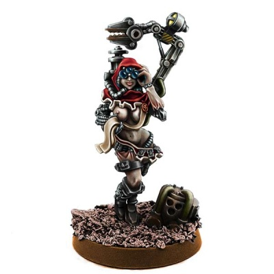 Mechanic Adept Female Tech Priest w Servoarm MKV