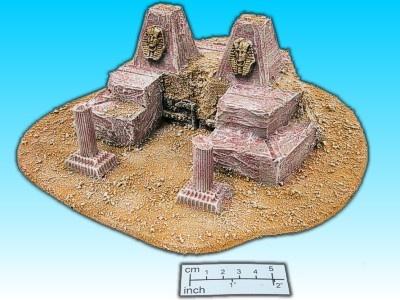 Geländestück Pharaonentempel