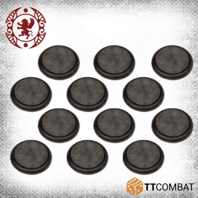 40mm Cobblestone Bases (12)