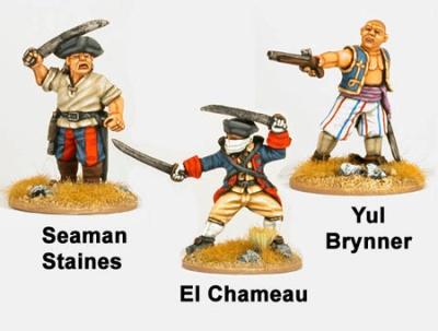 Sea Dogs - Yul Brinner, El Chameau, Seaman Staines