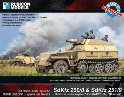 SdKfz 250/251 Expansion - 250/8 & 251/9 Stummel
