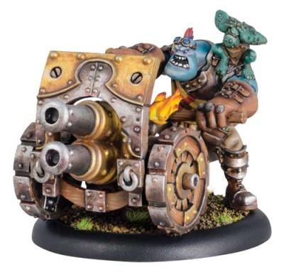 Trollbloods Weapon Crew Thumper / Pummeler (plastic)