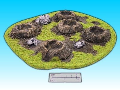 Geländestück Kraterfeld