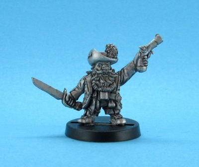Cap'n Redbeard -Dwarven Pirate King