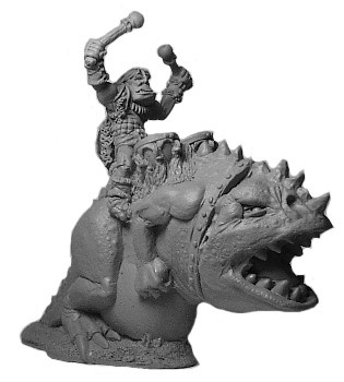Orc Carnosaur with Drummer