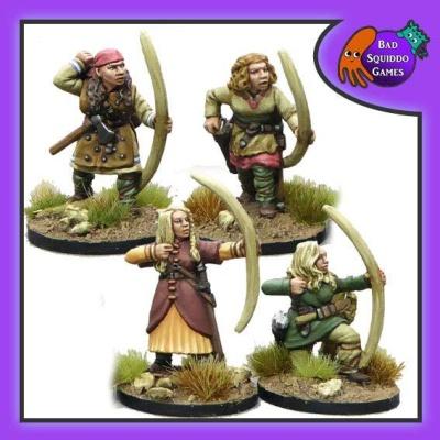 Shieldmaiden Archers (4)