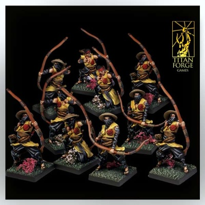 Dragon Empire Ashigaru Archers (10)