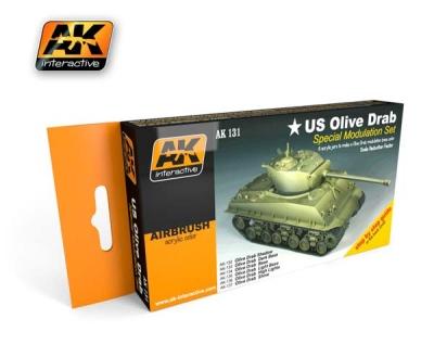 US Olive Drab Set