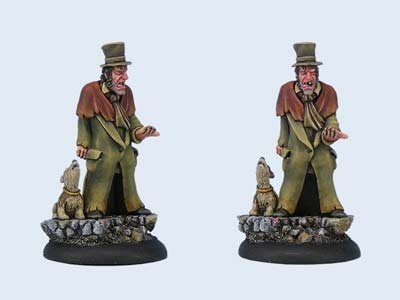 Discworld Miniature Foul Ole Ron and Gaspod (2)