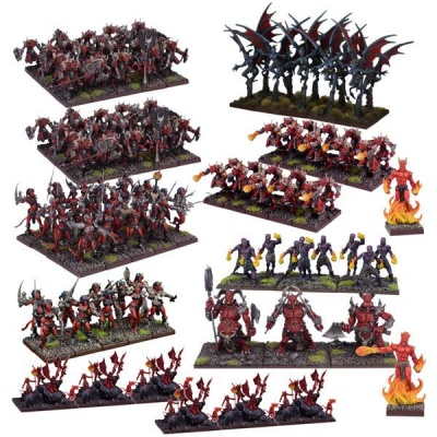 Forces of the Abyss Mega Army (108)