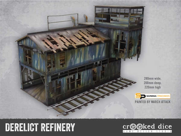 Derelict Refinery