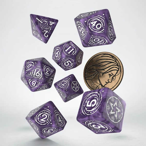 The Witcher Dice Set. Yennefer - Lilac and Gooseberries (7)