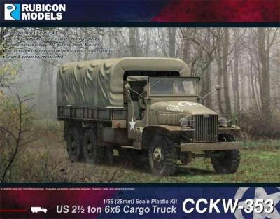 CCKW-353 2¢ ton 6x6 Truck (GMC)