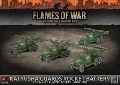 Katyusha Guards Rocket Battery