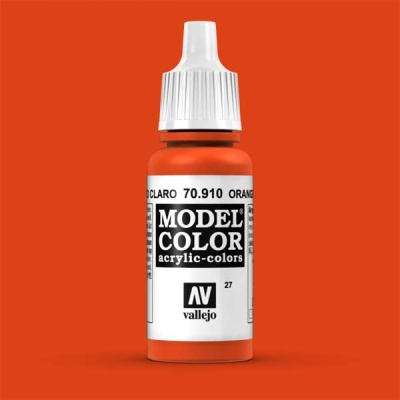 Model Color 027 Blutorange (Orange Red) (910)