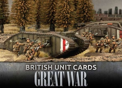 British Great War Unit Cards