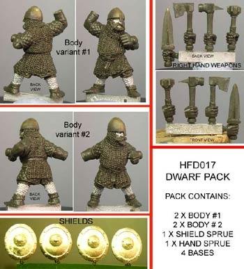 Dwarf Multi-Pack (4)