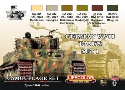 """Camouflage Set I """"Deutsche Panzer WWII"""""""
