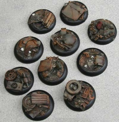 Eden: 30mm Machines Scrapyard Bases