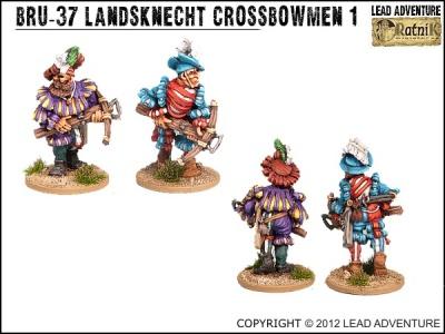 Landsknecht Crossbowmen 1 (2)