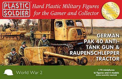 1/72: Pak 40 and Raupenschlepper Ost