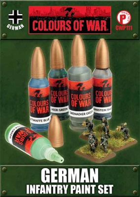 German Infantry Paint Set (5)