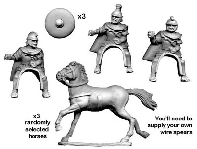 Carthaginian Cavalry with Spears (3)
