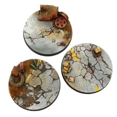 Highway Bases, Round 50mm (2)