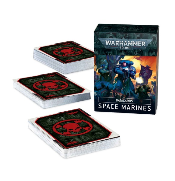 Datacards: Space Marines (2019) (ENGLISH)