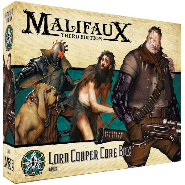 Malifaux (M3E): Lord Cooper Core Box