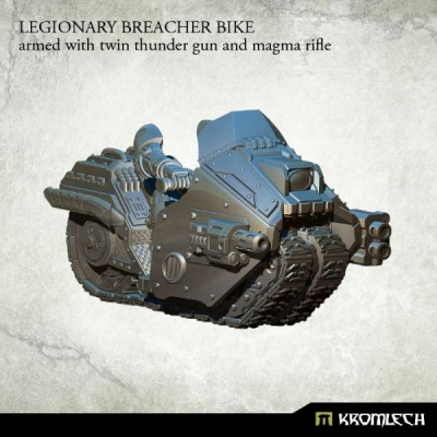 Legionary Breacher Bike: Armed with Twin Thunder & Magma