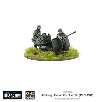 Blitzkrieg German 2cm Flak 38