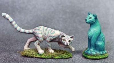 Huge Fae Cats (x2)