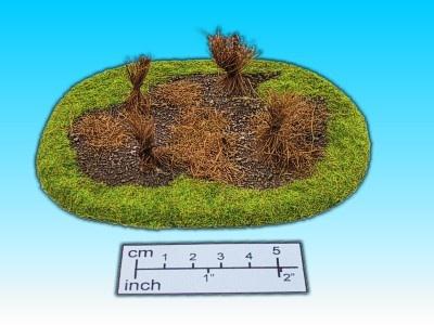 Geländestück Strohpuppen