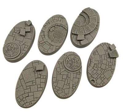 Arcane Bases, Oval 60mm (4)