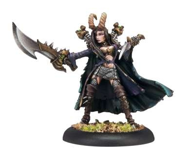 Cryx Warcaster Pirate Queen Skarre - 2009