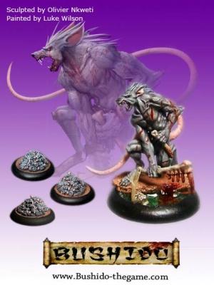 Nezumi and 3 rat swarms