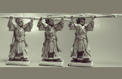 Elfen Veteranen Speerträger III