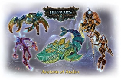 Deep Wars Deluxe Starter: Ancients of Atalan