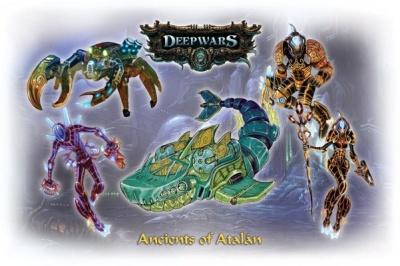 Deep Wars Deluxe Starter: Ancients of Atalan