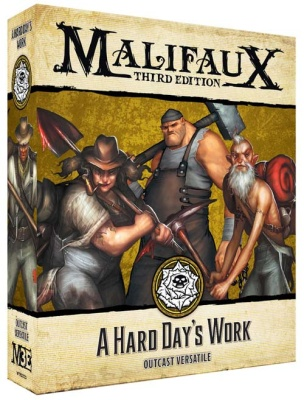 Malifaux (M3E): A Hard Day's Work