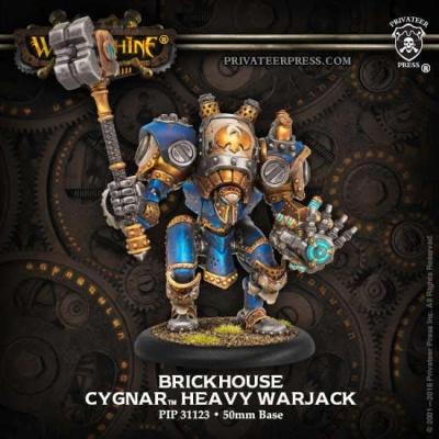 Cygnar Brickhouse Heavy Warjack