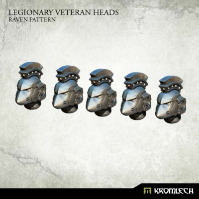 Legionary Veteran Heads: Raven Pattern (5)