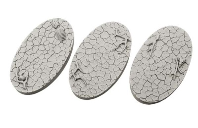 Wasteland Bases, Oval 75mm (2)